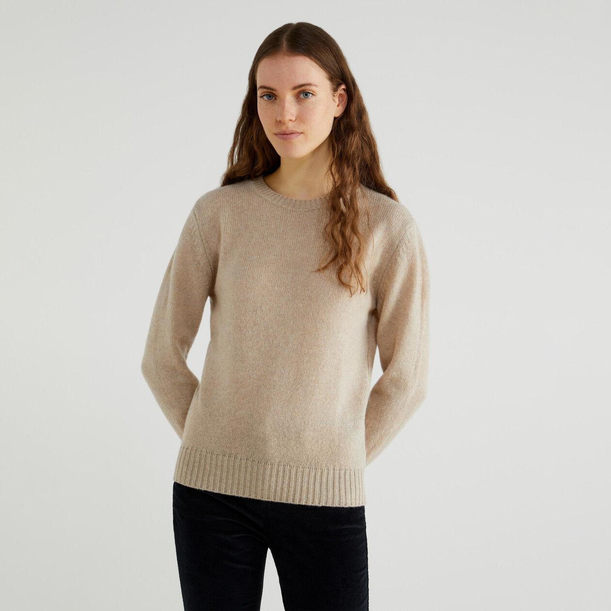 Μπλούζα από μαλλί Shetland