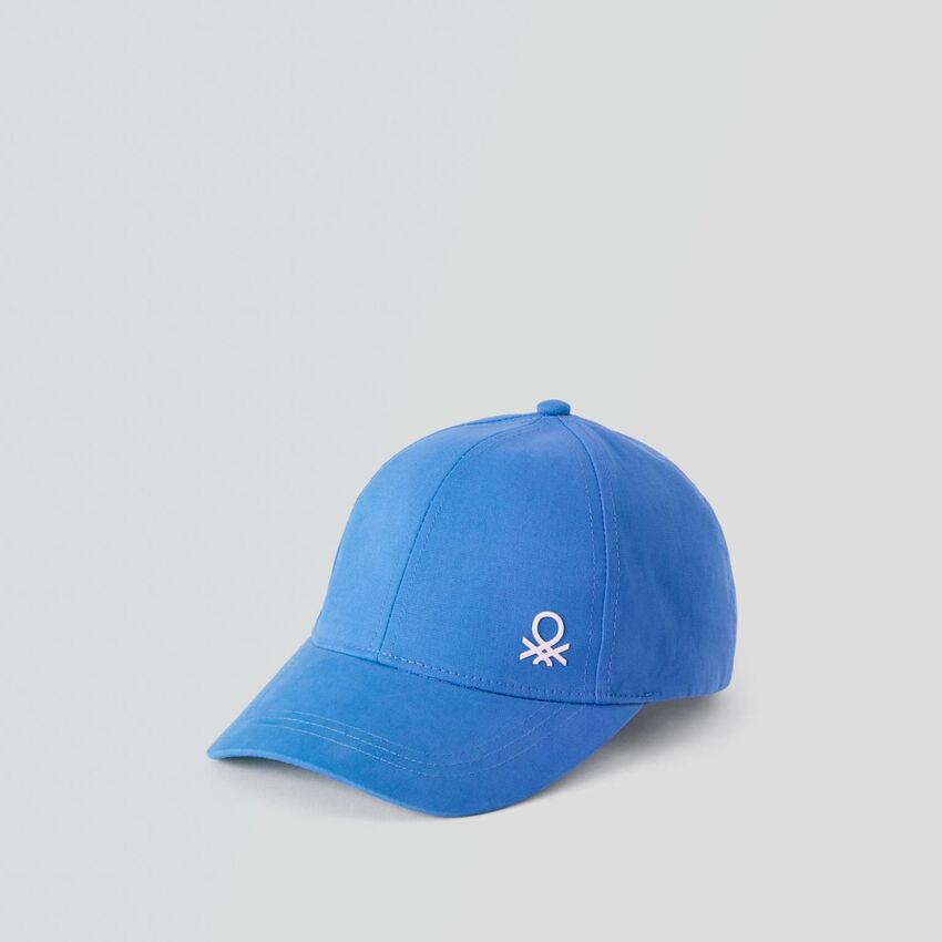 Καπέλο από βαμβακερό με γείσο