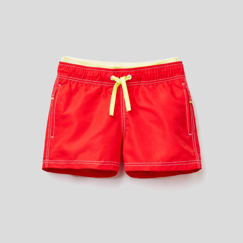 Customized swim trunks