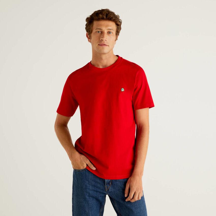 T-shirt basic 100% οργανικό βαμβακερό