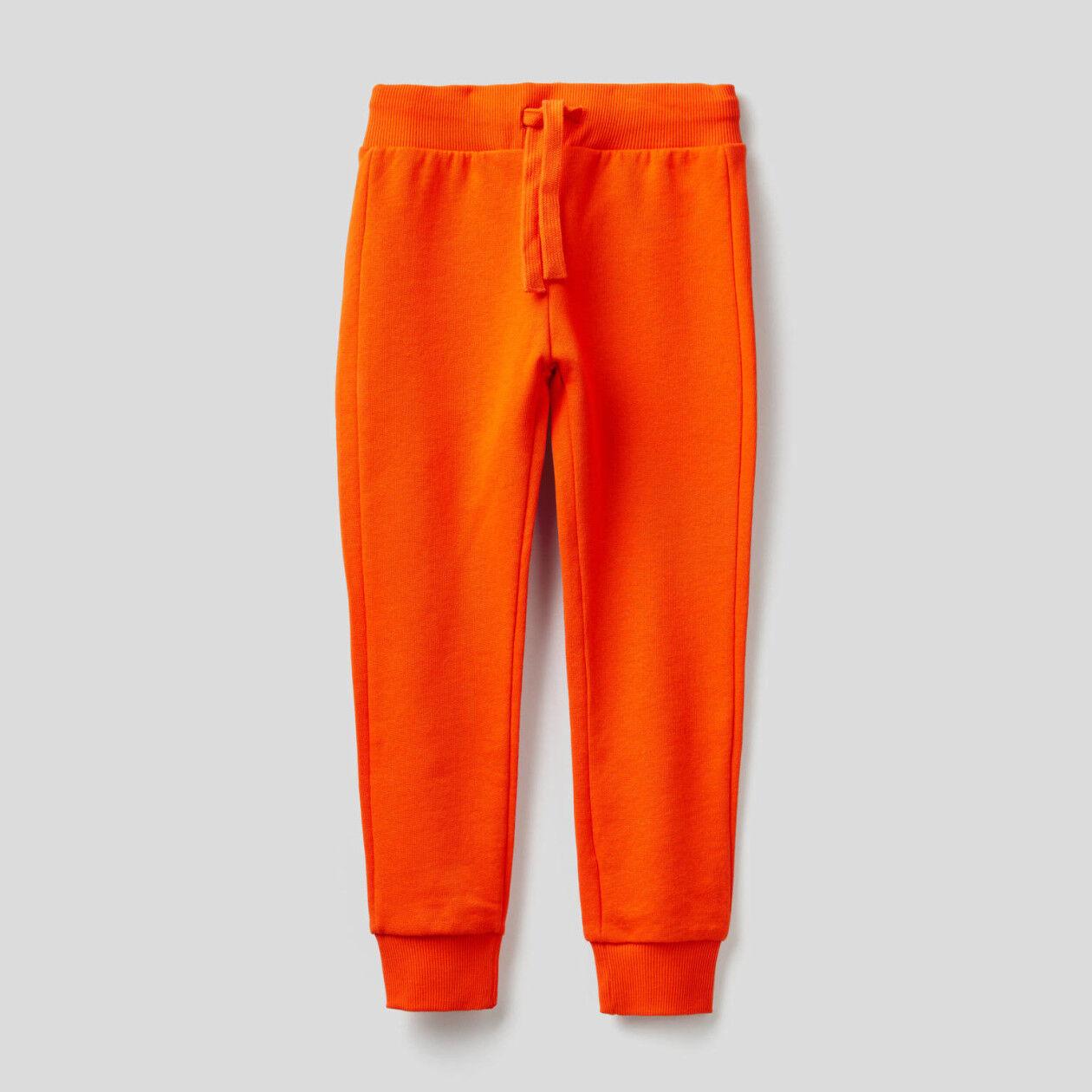 Παντελόνι φούτερ από αγνό βαμβακερό