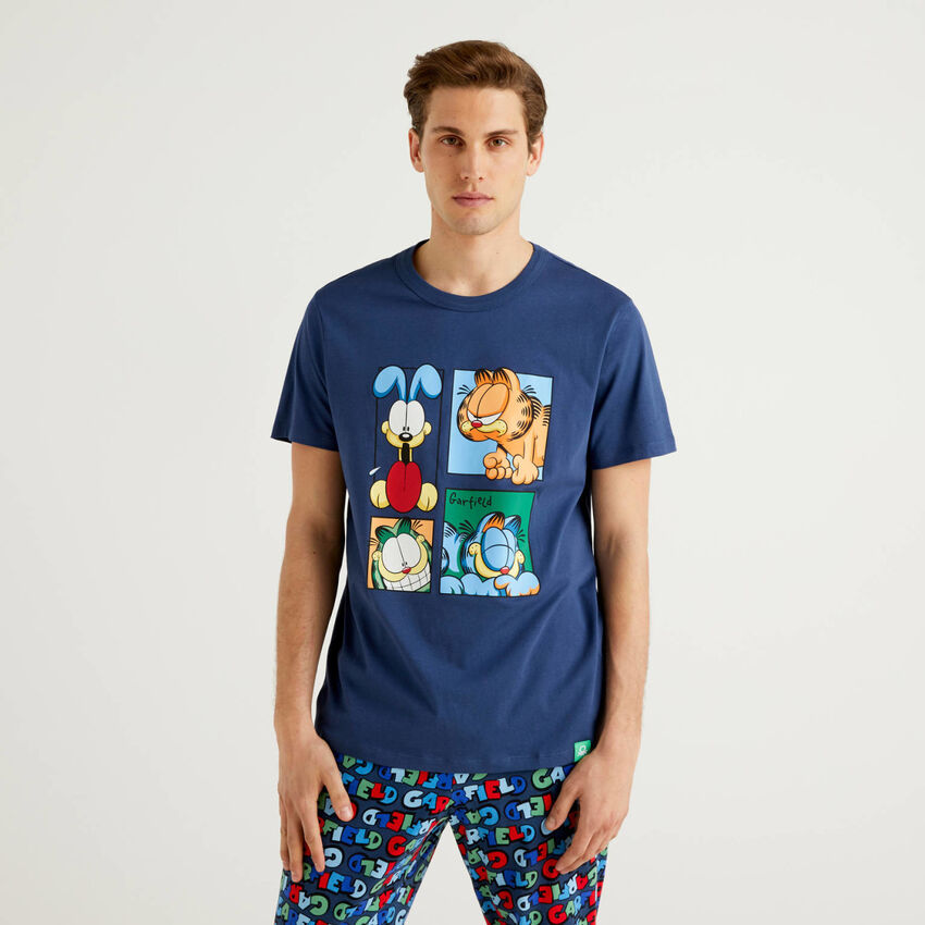 T-shirt Garfield από αγνό βαμβακερό
