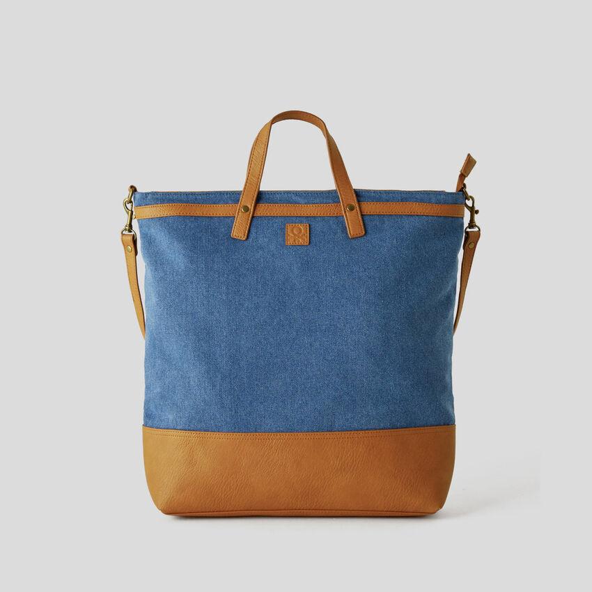 Shopping bag από καμβά