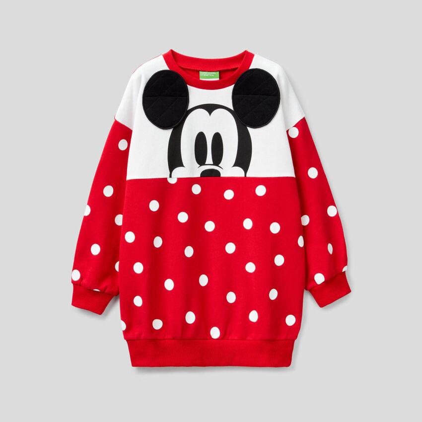 Μάξι φούτερ Mickey Mouse με πουά