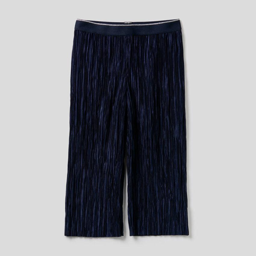 Παντελόνι μακρύ πλισέ