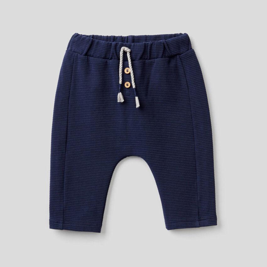 Παντελόνι από οργανικό βαμβακερό stretch