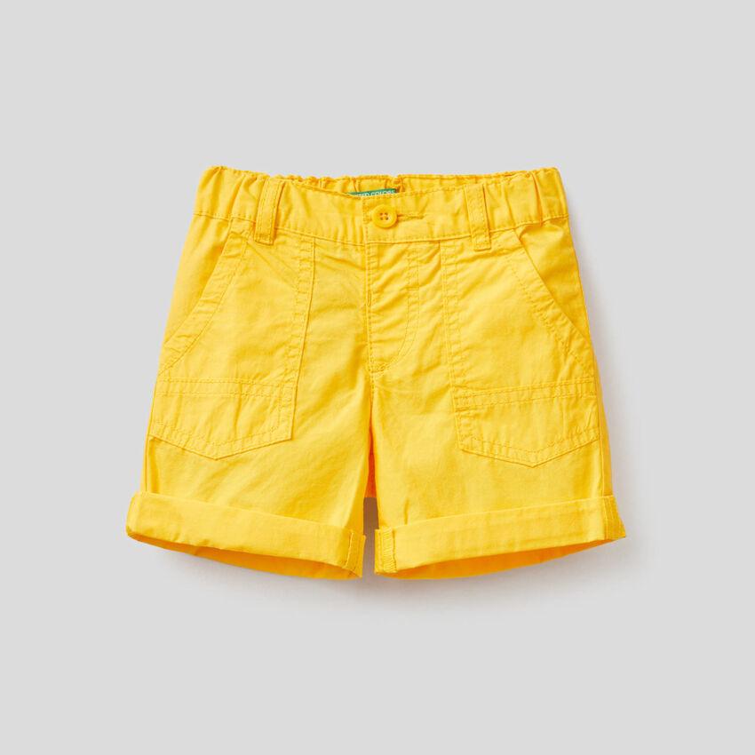 Παντελόνι κοντό από αγνό βαμβακερό