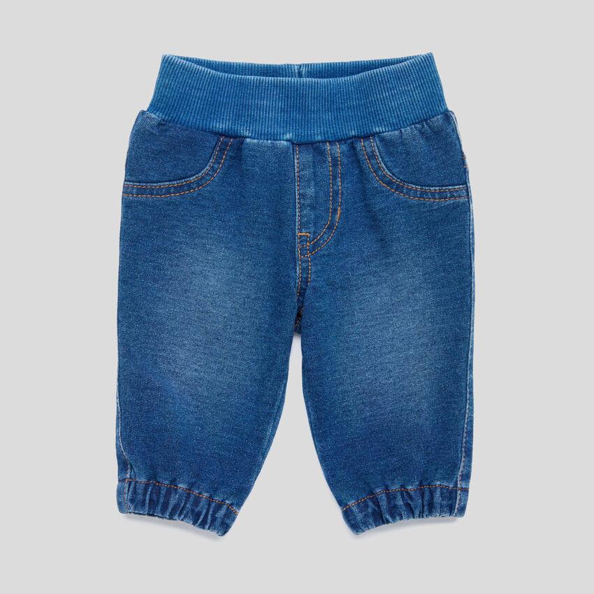 Παντελόνι stretch στυλ denim