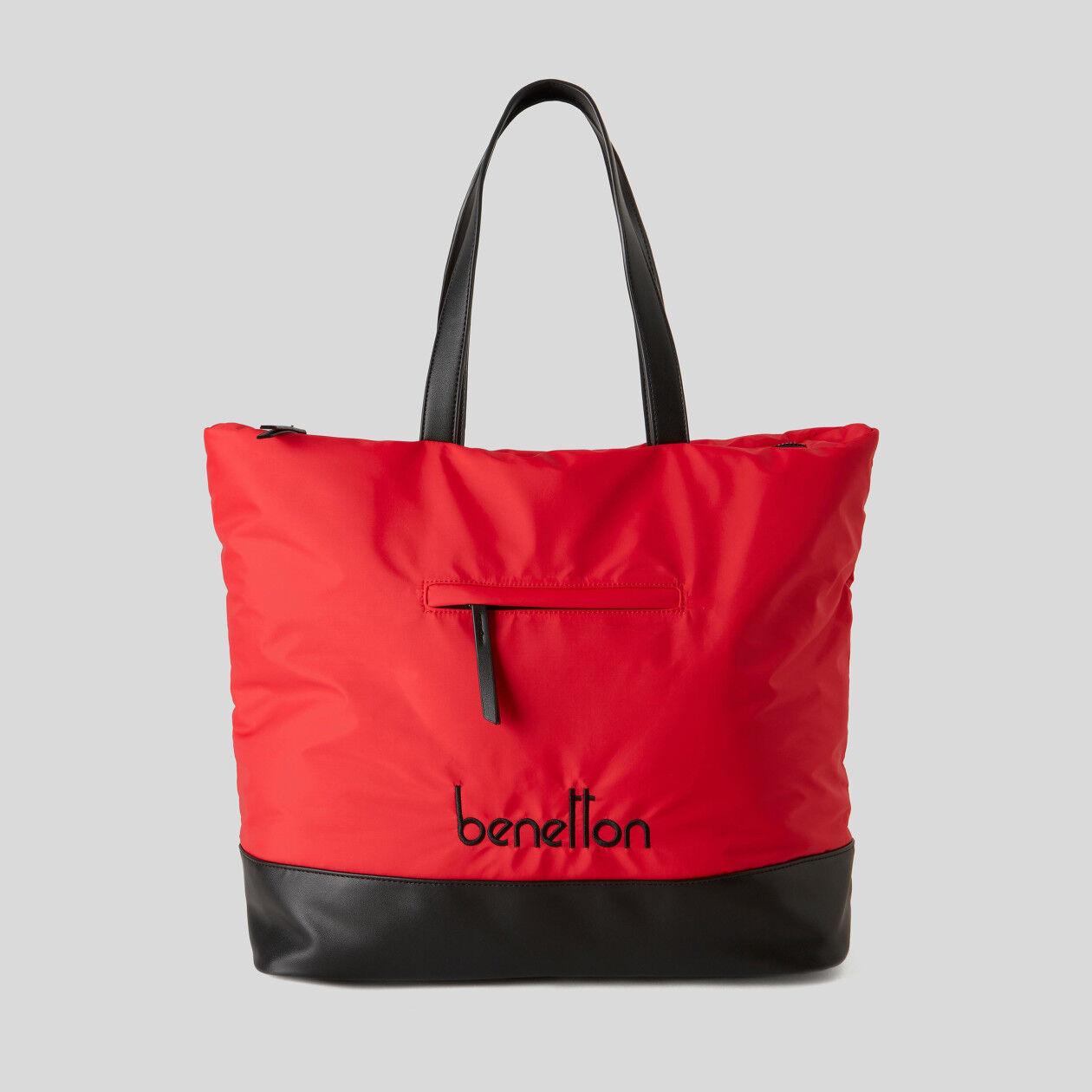 Τσάντα shopper από νάιλον