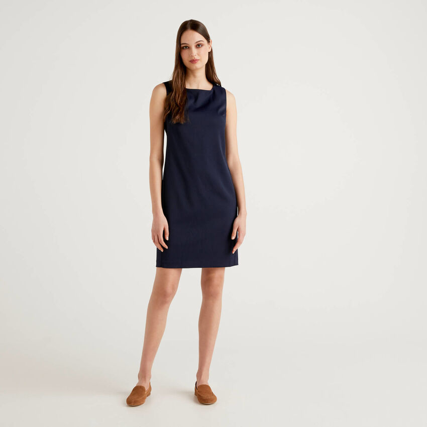 Φόρεμα σωλήνας από stretch ύφασμα