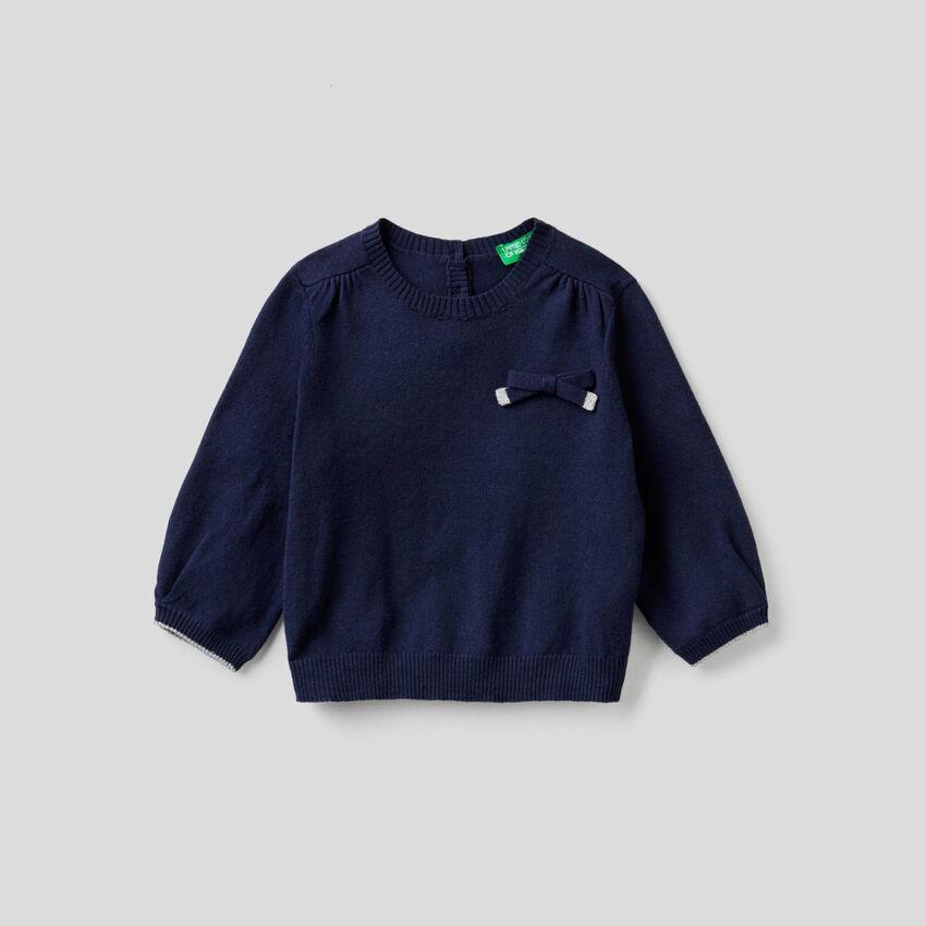 Μπλούζα με φιογκάκι