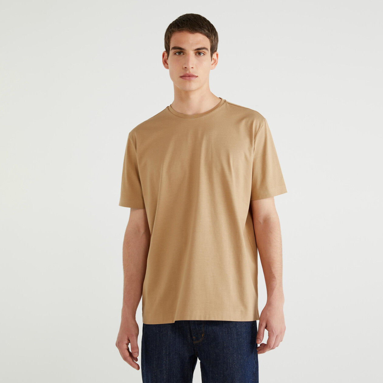 T-shirt κοντομάνικο 100% βαμβακερό
