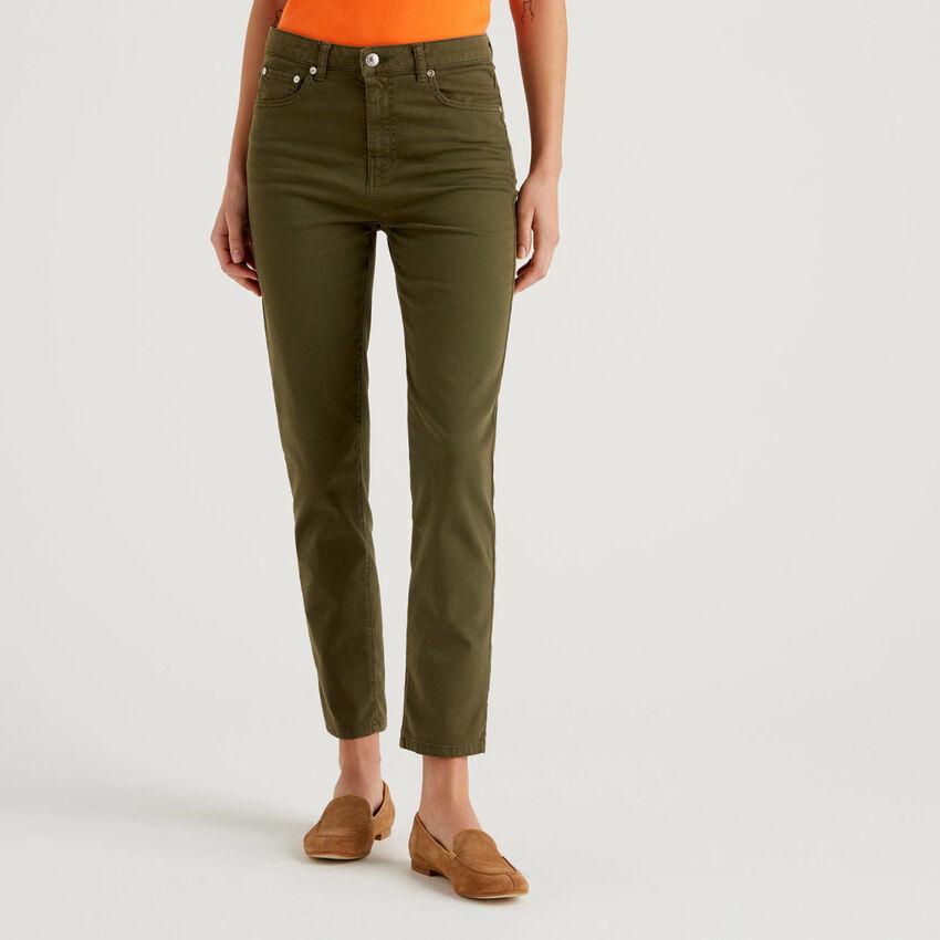 Παντελόνι από βαμβακερό stretch