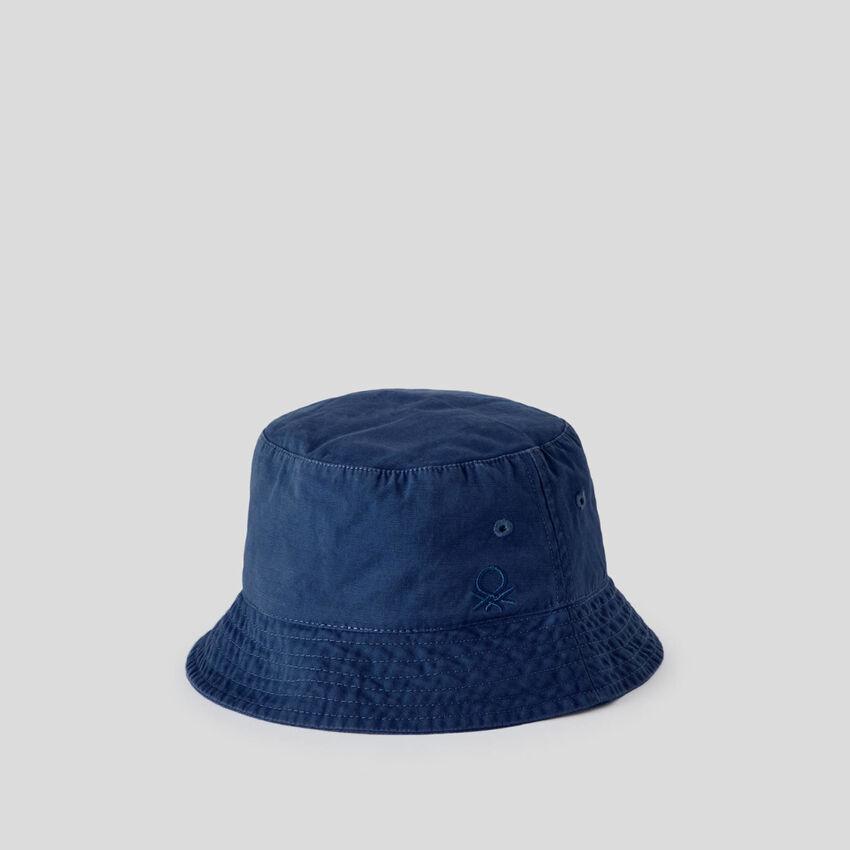 Καπέλο ψαρά με λογότυπο