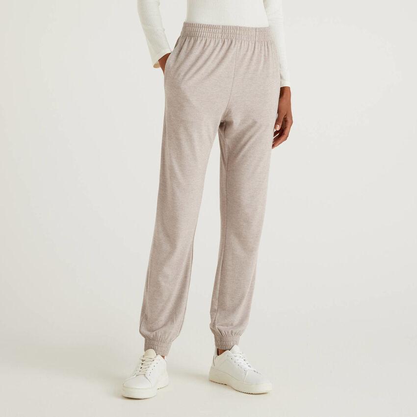 Παντελόνι loungewear ριχτό