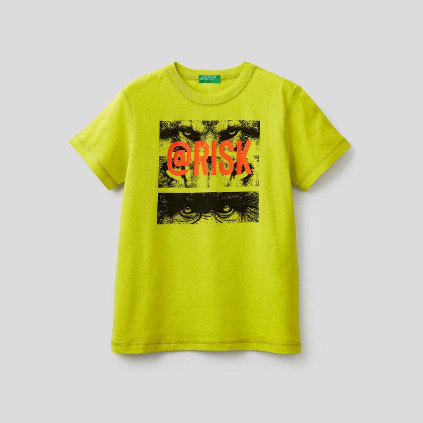 T-shirt 100% βαμβακερό με τύπωμα