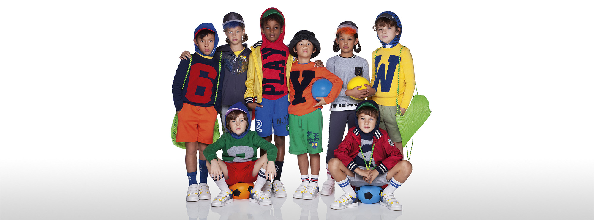 Boy's Colorful knitwear