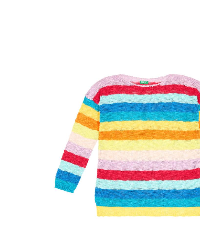 66406c6627f5 Κοριτσίστικα Πλεκτά Πουλόβερ Νέα Παιδική Collection | Benetton